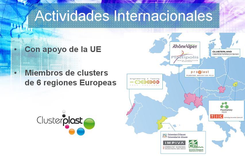 actividades internacionales cluster