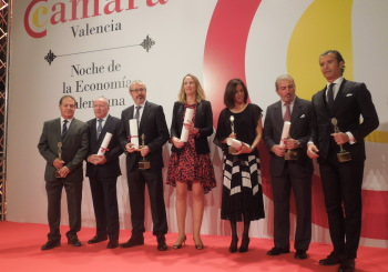 MATRIDOS y NUNSYS galardonadas en la Noche de la Economía Valenciana